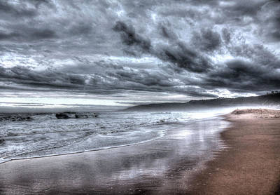Photograph - Stormy Ocean by Images Unlimited
