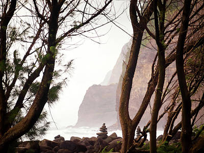 Marker Wall Art - Photograph - Stormy Pololu Valley by Christopher Johnson