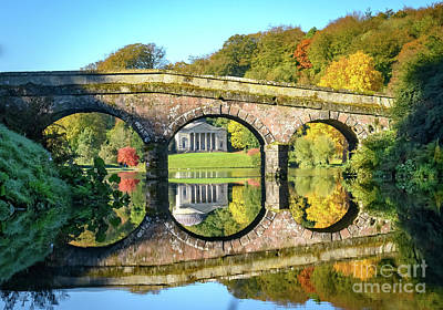 Photograph - Stourhead Autumn by Colin Rayner