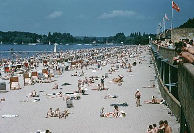 Photograph - Strandbad Wannsee by Harvey Meston