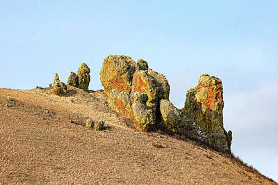 Photograph - Strange Rock Formation by Todd Klassy
