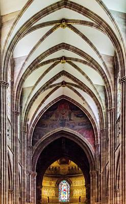 Photograph - Strasbourg Cathedral - 2 by Paul Croll
