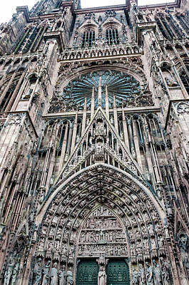 Photograph - Strasbourg Cathedral by Paul Croll