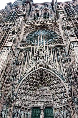Strasbourg Cathedral Art Print