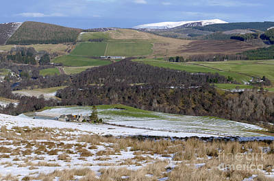 Photograph - Strath Avon And Ben Rinnes by Phil Banks