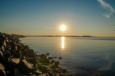 Photograph - Strathmere Bay At Sunrise by Bill Cannon