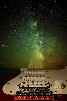 Photograph - Stratocaster by Mila Vasileva