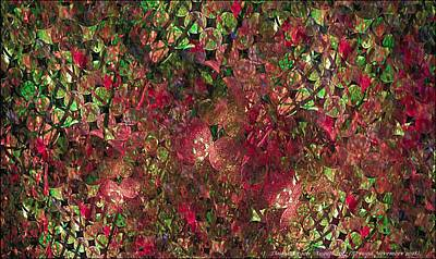 Digital Art - Strawberry Patch Glistens by Doug Morgan