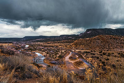 Photograph - Stream And A Storm by Robert FERD Frank