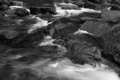 Photograph - Stream Flow by Les Cunliffe