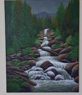 Painting - Stream by Gloria Johnson