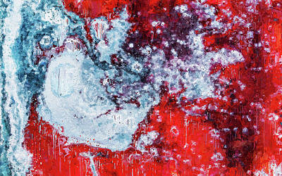 Painting - Stream Of Consciousness - 01 by Andrea Mazzocchetti