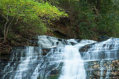 Photograph - Streaming Water Falls by Dale Powell