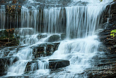 Photograph - Streaming Water Sounds Of North Carolina by Dale Powell