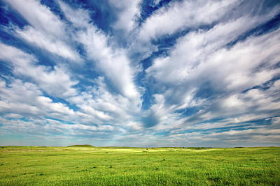 Photograph - Streams Of Clouds by Todd Klassy