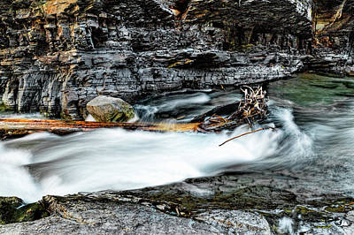 Photograph - Streams Of Glacier National Park  by Kay Brewer