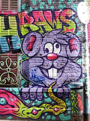 Photograph - Street Art Buenos Aires 19 by Kurt Van Wagner