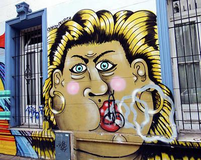 Photograph - Street Art Buenos Aires 2 by Kurt Van Wagner