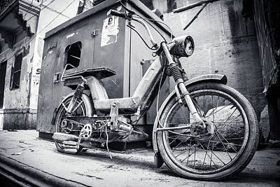 Photograph - Street Bike by Gary Gillette