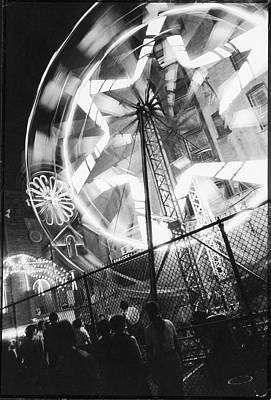 Photograph - Street Fair, 1971 by Fred W. McDarrah