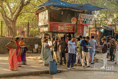 Photograph - Street Food Delhi by Werner Padarin