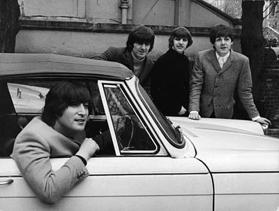 Celebrity Photograph - Street Legal Beatle by Express Newspapers