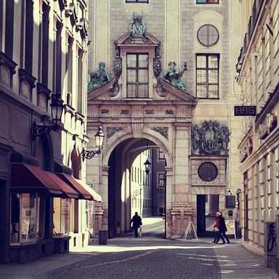 Photograph - Street Of Munich by Euge De La Peña