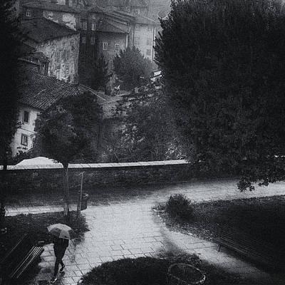 Photograph - Street Photography Barga Tuscany by Frank Andree