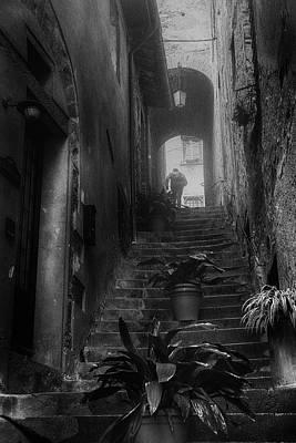 Photograph - Street Photography Tuscany by Frank Andree
