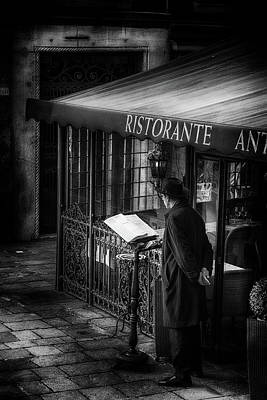Photograph - Street Photography Venice by Frank Andree