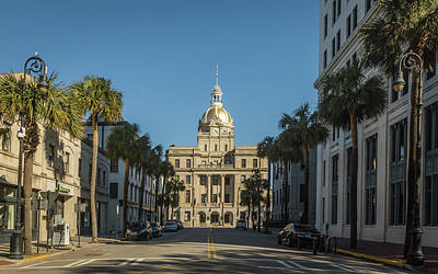 Photograph - Streets Of Savannah by Framing Places