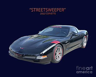Photograph - Streetsweeper Corvette by Jack Pumphrey