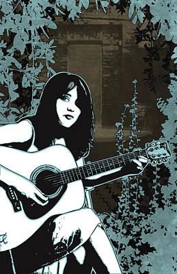 Digital Art - Strings by Jason Casteel