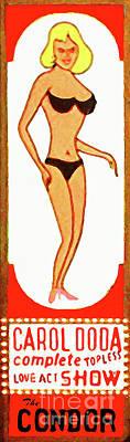 Photograph - Strip Club Carol Doda Condor Broadway San Francisco 20190128v3 by Wingsdomain Art and Photography