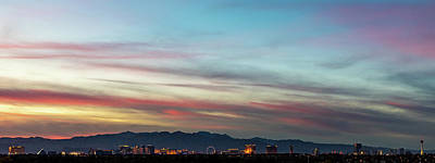 Sunset Strip Wall Art - Photograph - Strip Sunset by James Marvin Phelps