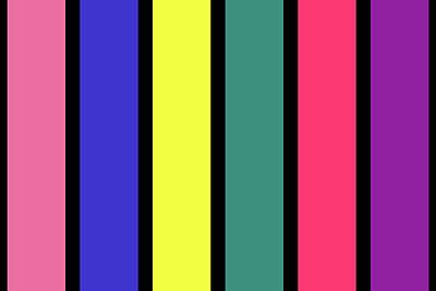 Digital Art - Stripe - Spring - On Black by REVAD David Riley