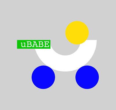 Digital Art - Stroll Babe by Ubabe Style