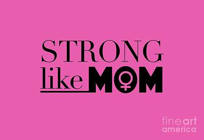 Royalty-Free and Rights-Managed Images - Strong Like Mom by L Bee