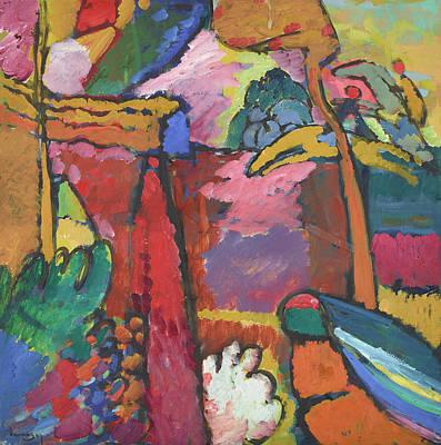 Kandinsky Wall Art - Painting - Study For Improvisation V, 1910 by Wassily Kandinsky