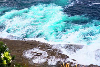 Photograph - Stunning 2 Colours Of Water by Miroslava Jurcik