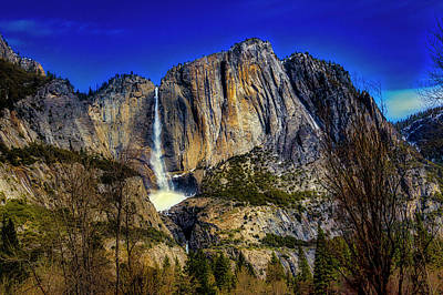 Photograph - Stunning Upper Yosemite Falls by Garry Gay