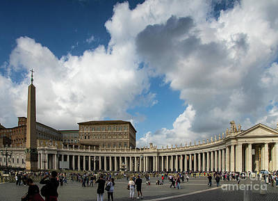 Photograph - Stunning View Of Vatican City Rome by Wayne Moran