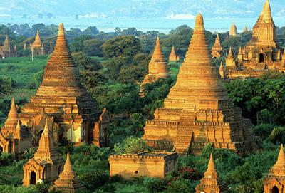 Photograph - Stupas And Payas, Bagan, Myanmar by Veni