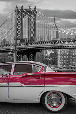 Photograph - Style In New York City by Debra and Dave Vanderlaan