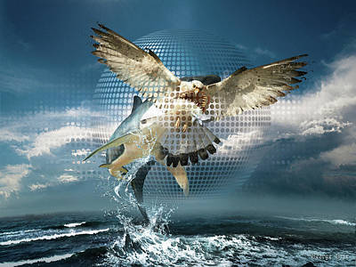 Digital Art - Subliminal Message Or  Optical Illusion Of Conscious Perception by George Grie