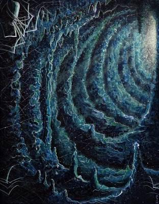 Subterranean Painting - Subterranean Lurkers by Philip Harvey