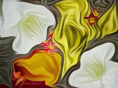 Digital Art - Subtlety by Kathie Chicoine