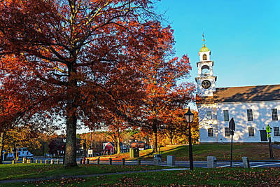 Photograph - Sudbury Ma Beautiful Autumn Foliage Sudbury Ma by Toby McGuire