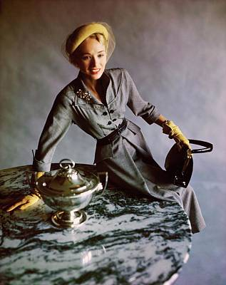 Photograph - Sue Jenks In Sheila Lynn by Horst P. Horst