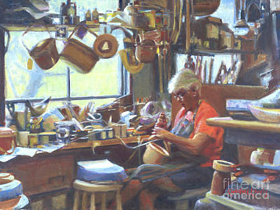 Painting - Sue's Basket Shop by Candace Lovely